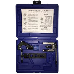 122-FA: 37° Flaring & Cutting Kit includes TC-1000 Tube Cutter & 437-FB Flaring Tool