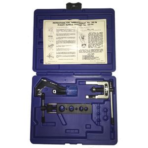 123-FA: 45° Tube Flaring & Cutting Kit. Contains: TC-1000 & 300-FB