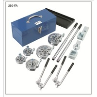 260-FHA Tube Bender Kit with 7-Size Inter-changeable Heads