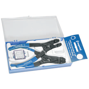 "IR-44K: 2-PC. Ring Pliers for 3/8"" to 2"" Circlip Rings with replaceable tips"